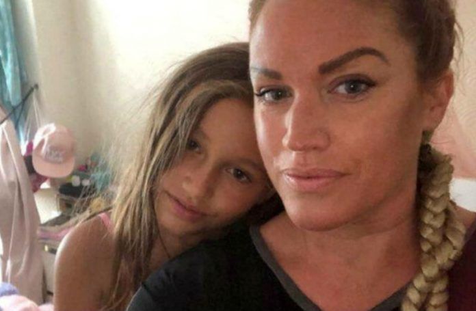 Джемма Хамнетт с дочерью Сиенной
