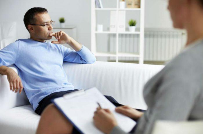 Сеанс у психотерапевта