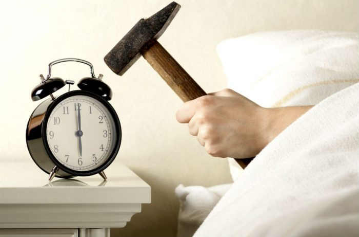Тяжелый ранний подъем утром