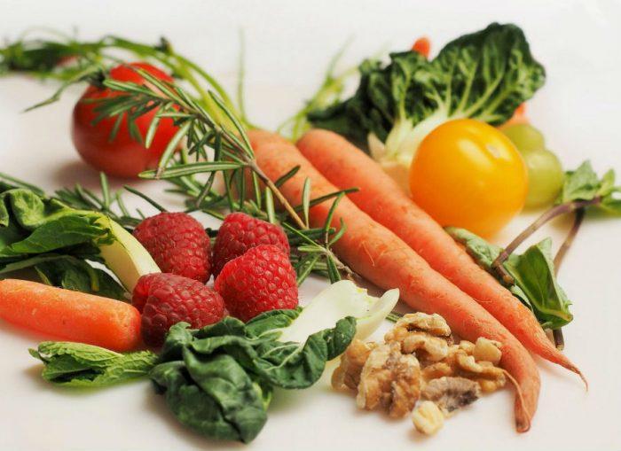 Фрукты и овощи в рационе правильного питания
