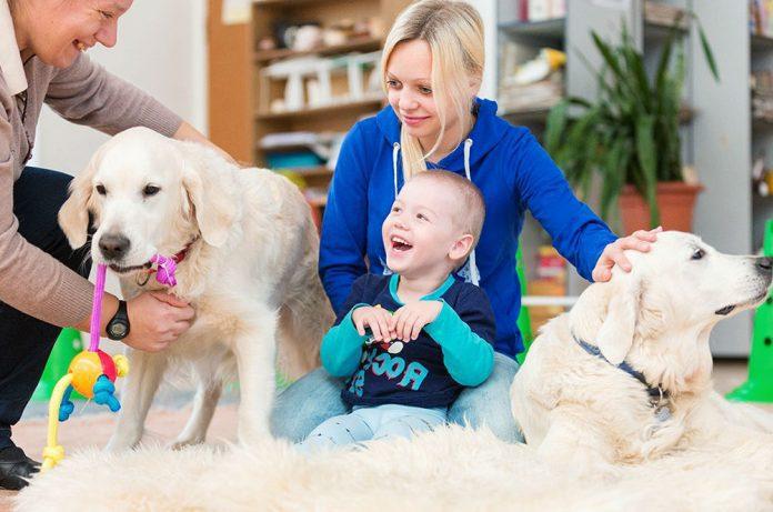 Канистерапия для детей