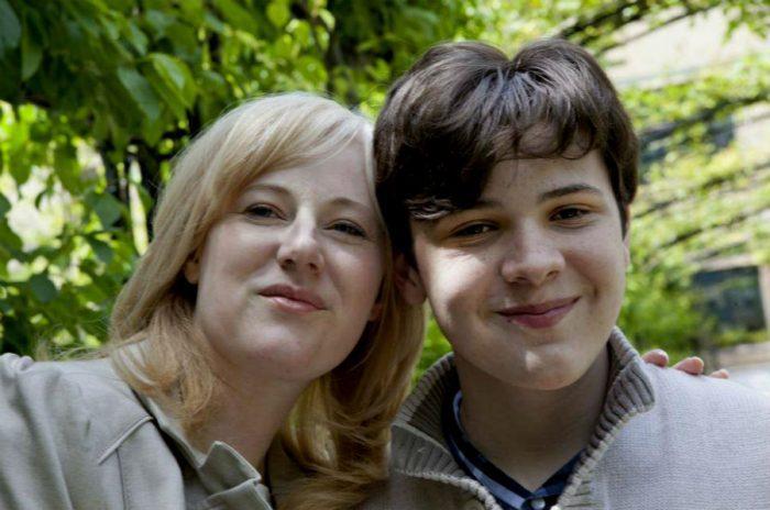 Джейкоб Барнетт з матір'ю Крістін