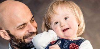 Лука Трапанезе з прийомною дочкою Альбою