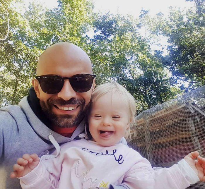Лука с дочкой Альбой