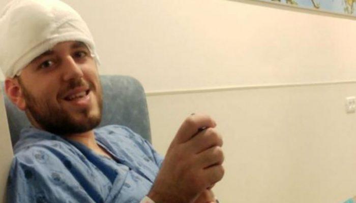 Пелег Адар після лазерної операції