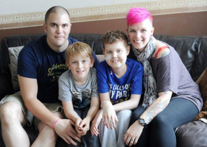 Дерін Блеквелл з батьками і братом