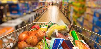Поход за продуктами в супермаркет