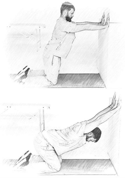 Упражнение «Антигорб»