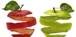 Шкірка від яблука