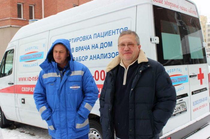 Валерий Гаврилюк (справа) с коллегой