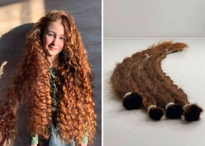 Эмилия и ее роскошные волосы