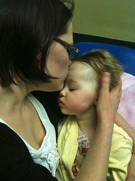 Дженніфер з дочкою Алісою
