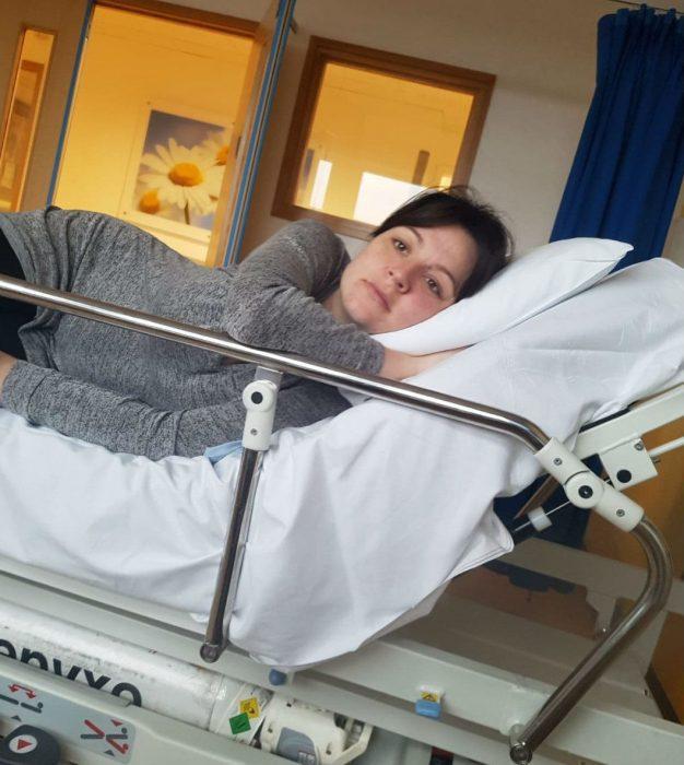 Ясмин в больнице