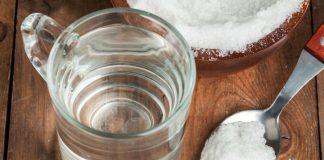 Сольовий розчин для промивання носа