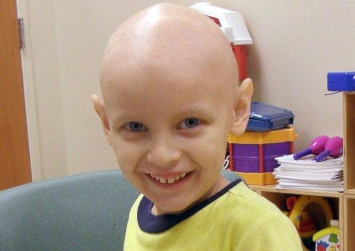 Ноа під час проходження хіміотерапії