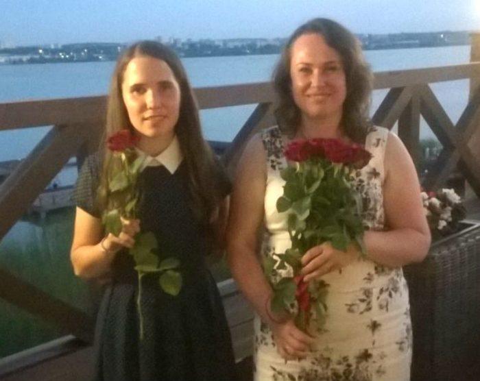 Ольга з дорослою донькою Анею