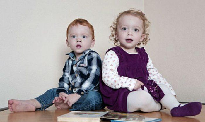 Подросшие близнецы
