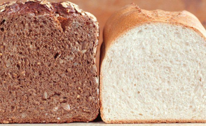 Чорний і білий хліб