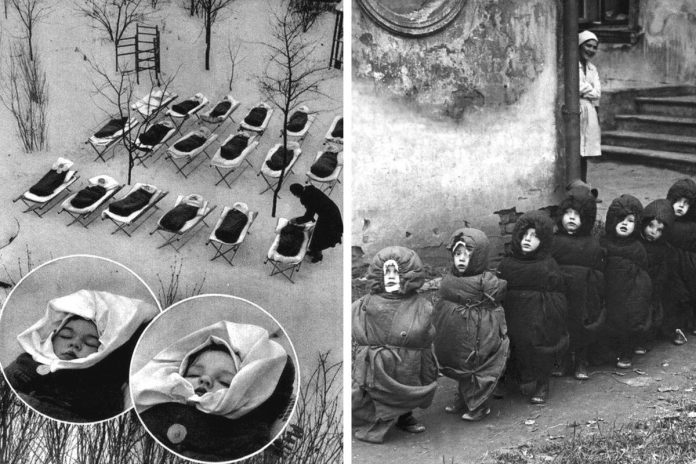 Тиха година взимку в яслах за часів СРСР