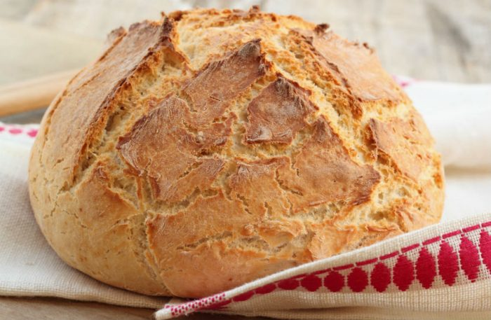 Готовий бедзрожжевой хліб