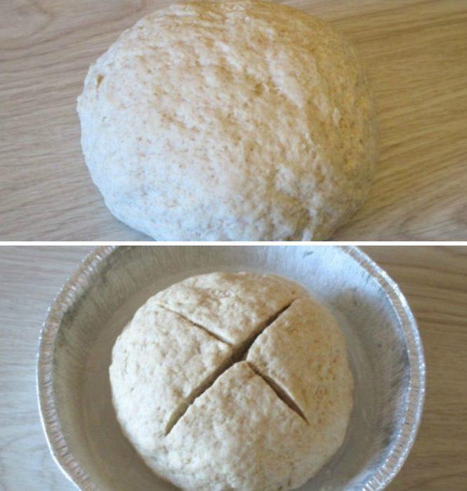 Рецепт бездріжджового хліба покроково [2]