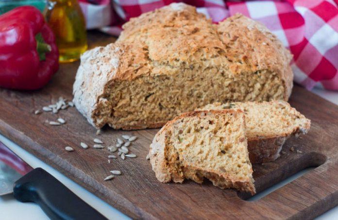 Бедзрожжевой хліб на кефірі