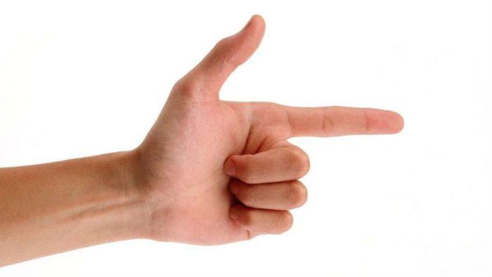 Указательные пальцы связаны с печенью
