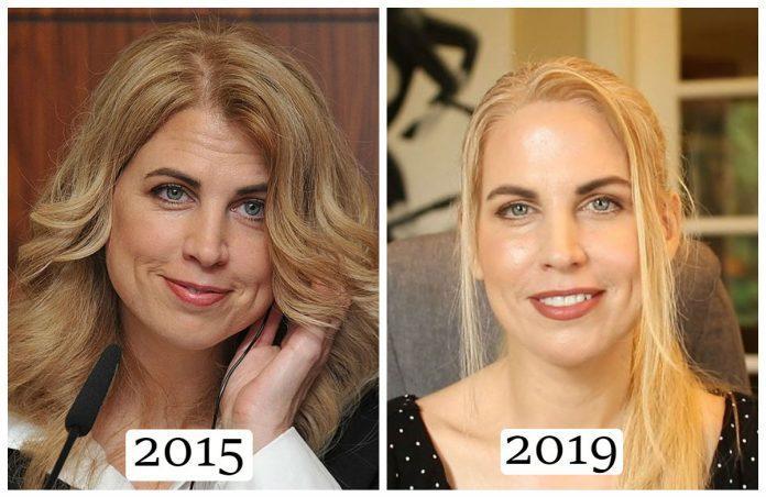 Элизабет Пэрриш до и после эксперимента