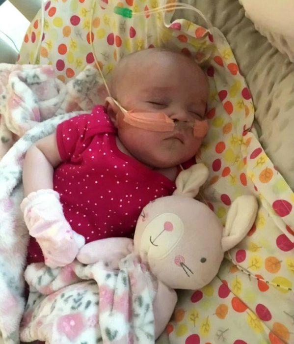 Малышка после выздоровления