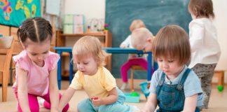 Діти в дитячому садочку