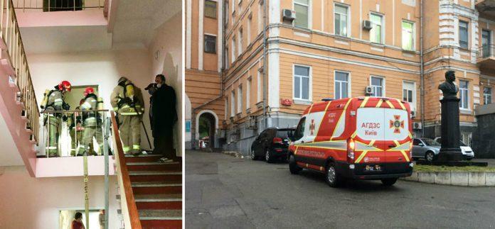 Пожежа в Олександрівській лікарні