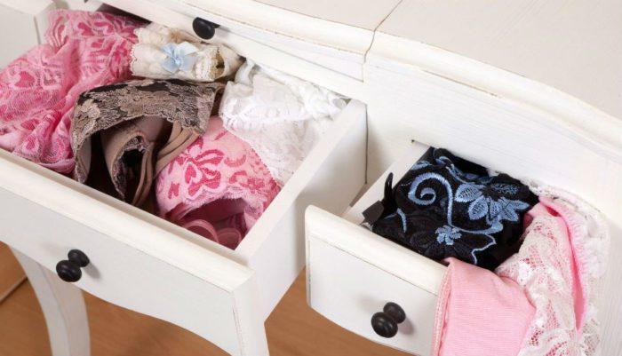 Ящик с нижним бельем