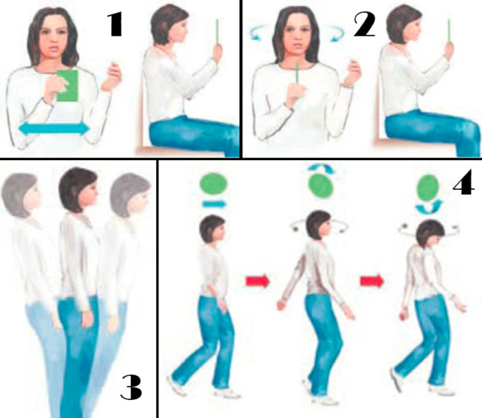 Инструкция к вестибулярной гимнастике