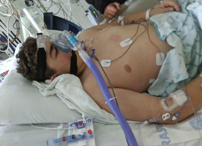 Энтони в больнице