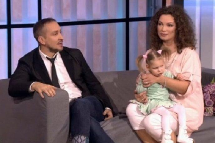 Данко с Натальей на телевидении