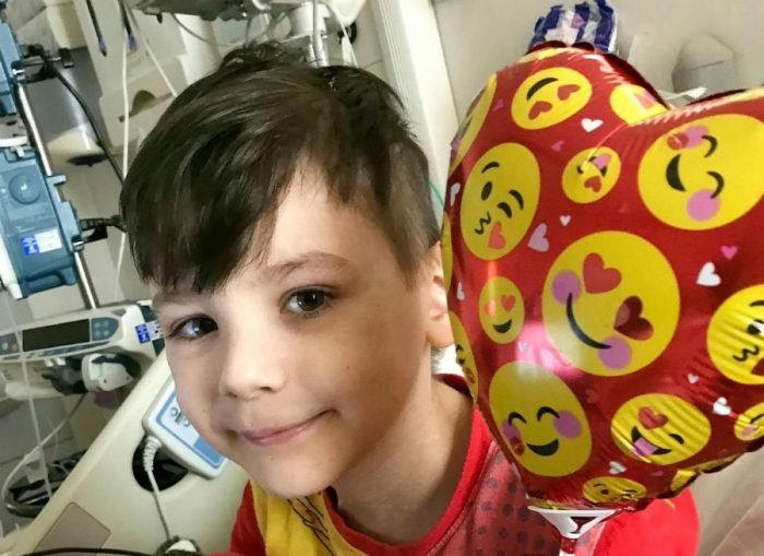 Джулиан в больнице