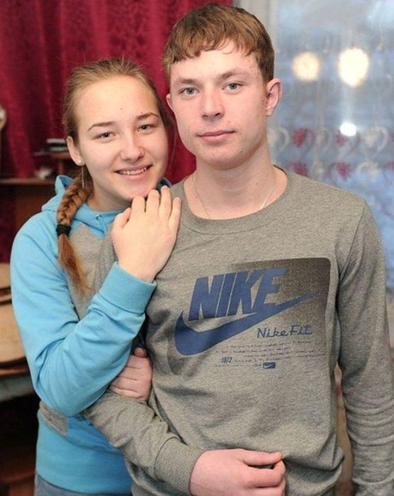 Влад со своей девушкой Настей