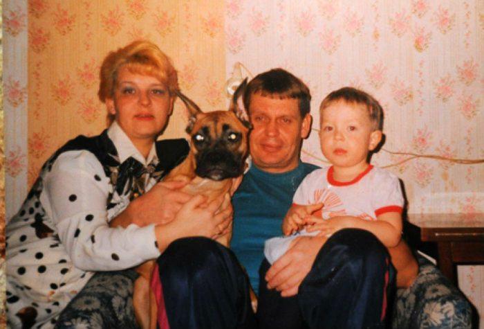 Архивное фото семьи Кудряшовых