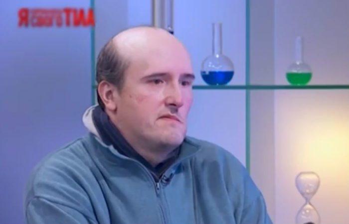 Олег после операции