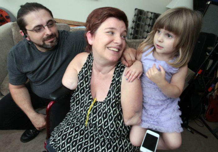 Супруги Хайс с младшей дочкой Ариэль