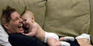 Кэти с младшей дочерью Ариэль