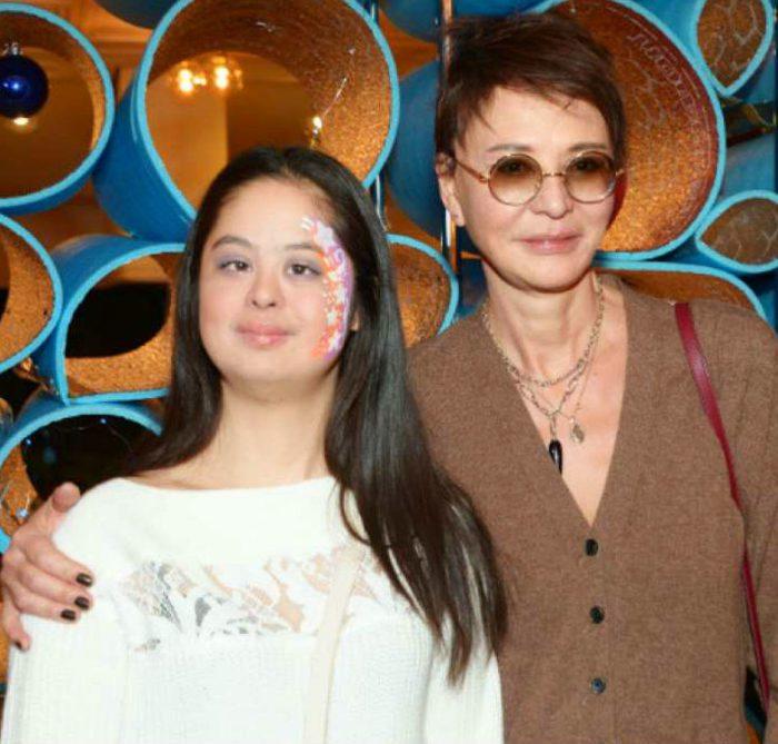 Ирина Хакамада с Машей