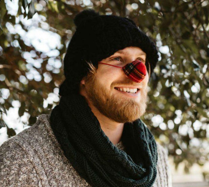 Шапочка для носа, чтобы зимой не было холодно