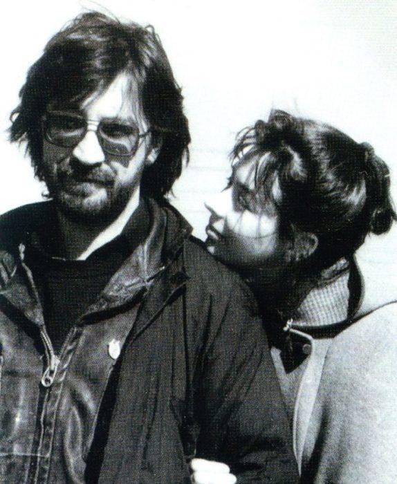 Юрий Шевчук с Эльмирой