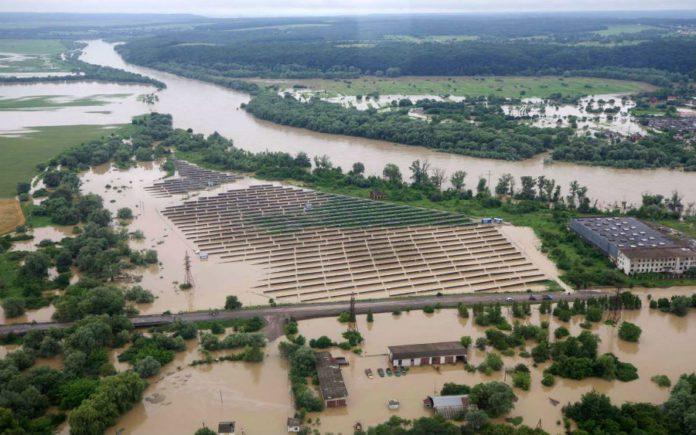 Затоплений Галич, Івано-Франківська область