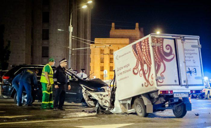 ДТП, виновником которого стал актер Михаил Ефремов