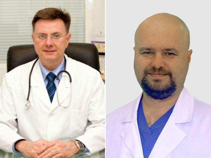 Игорь Лазарев (слева) и Максим Королев (справа)