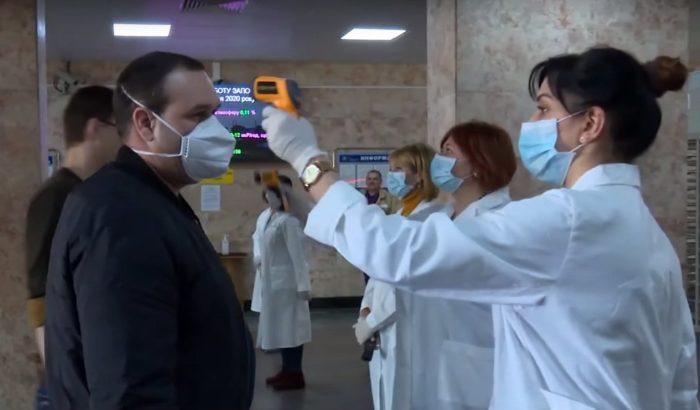 Смертность от COVID-19 в Украине
