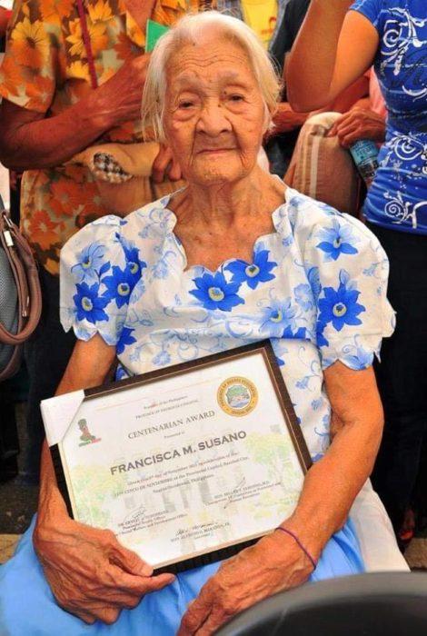 філіппінка довгожитель