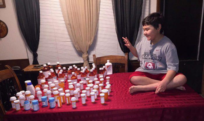 Такое количество лекарств Стивену пришлось принять за весь период борьбы с раком